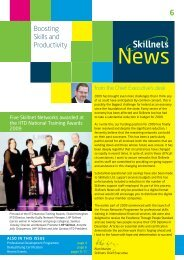 from the Chief Executive's desk - Skillnets