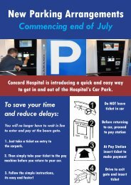 New Parking Arrangements
