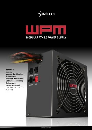 MODULAR ATX 2.0 POWER SUPPLY - Sharkoon