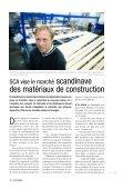 SCA vise le marché des matériaux de construction - SCA Forest ... - Page 3