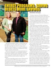 energy programs: saving begets more savings - Building Operator ...