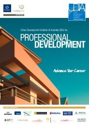 Professional Development Brochure - Urban Development Institute ...