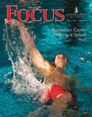 Recreation Center Making a Splash - University Relations