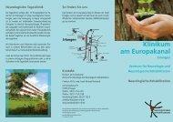 Neurologische Tagesklinik - Klinikum am Europakanal