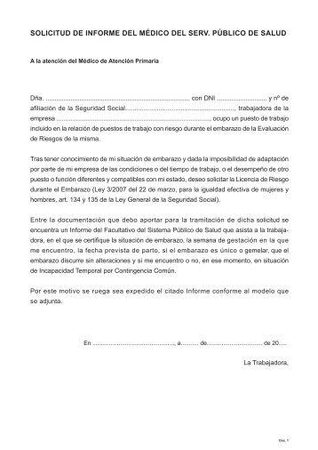 Solicitud certificado médico (Fase I) - Umivale