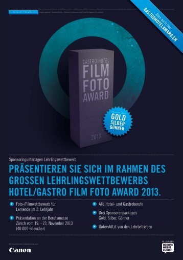 download dokumentation - gastro/hotel film & foto award 2013