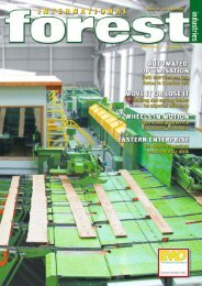 Issue 12 - October 2009 - International Forest Industries (IFI)