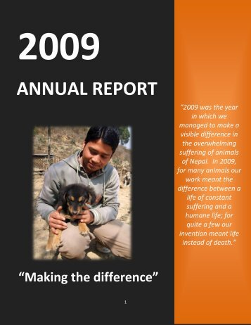 Annual Report 2009.pdf - Animal Nepal