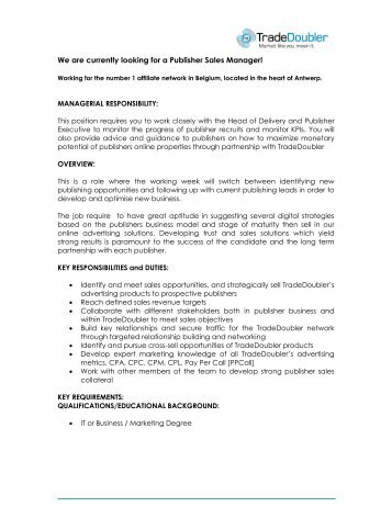 Technical Service Executive Position Essential Skills Preferred ...
