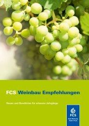 FCS Weinbau Empfehlungen - Feinchemie Schwebda GmbH