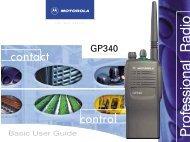 Download Gp340 Basic User Guide - Radio Facilities