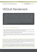 VEOLIA Rendement - Derivatives Capital - Page 2