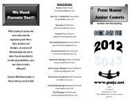 pmjc 2012 pamphlet - Penn Manor Blog Site - Penn Manor School ...