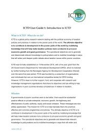 Introduction to ICTD