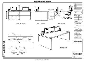 XTRA Big Slab - Mybigdesk.com