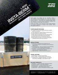 Insta-Berm (L-Rod) - SEI Industries Ltd.