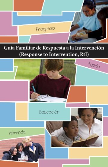 Response to Intervention, RtI - Parent Information Center on Special ...