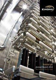 EirGrid plc Annual Report 2012