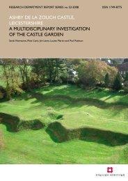ashby de la zouch castle, leicestershire a ... - English Heritage