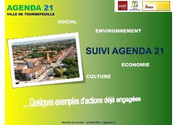 suivi agenda 21 - Tournefeuille
