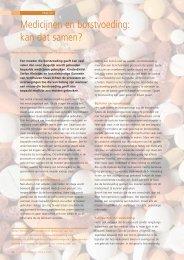 Medicijnen en borstvoeding: kan dat samen? - Borstvoeding.com