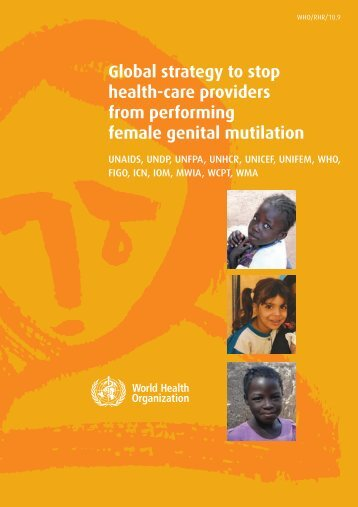 Global strategy to stop health-care providers from performing female ...
