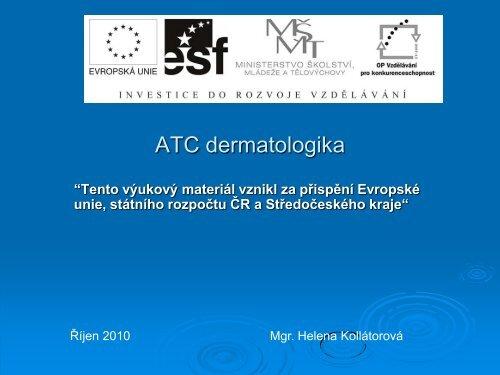 ATC dermatologika