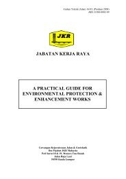 jabatan kerja raya a practical guide for environmental protection ...
