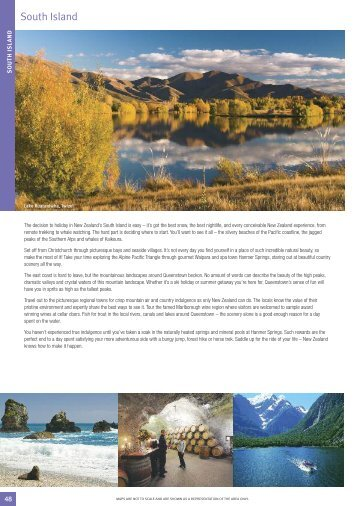 South Island - Travelpoint Holidays