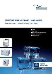 EFFECTIVE HEAT SINKING AT LIGHT SOURCE - AMS Technologies