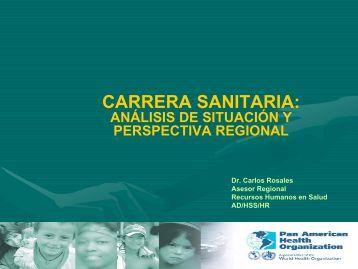 Carrera sanitaria - Observatorio de Recursos Humanos en Salud