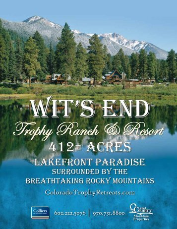 Trophy Ranch & Resort - United Country Real Estate