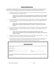 Homeless Verification Form According to the information we ...