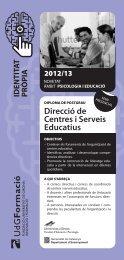 Direcció de Centres i Serveis Educatius - Groc