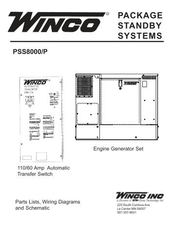 60701 118 parts list and wiring diagram winco generators 60701 095 parts list pss8000p winco generators asfbconference2016 Images