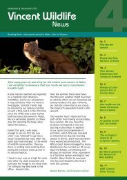 here - The Vincent Wildlife Trust