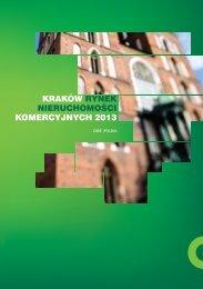 Kraków - rynek nieruchomości komercyjnych 2013