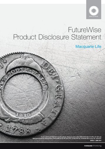 FutureWise PDS - Income Protection Insurance
