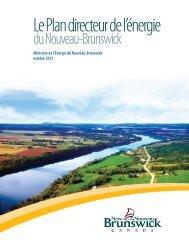 Plan directeur de l'énergie du Nouveau-Brunswick - Government of ...