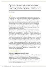 Op zoek naar administratieve lastenverlichting voor bedrijven ...