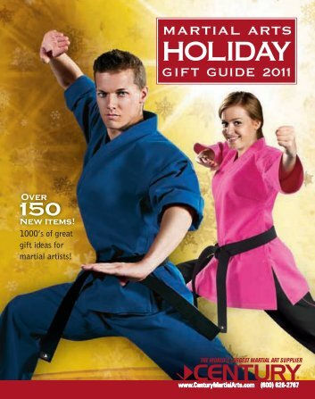1000's of great gift ideas for martial artists!