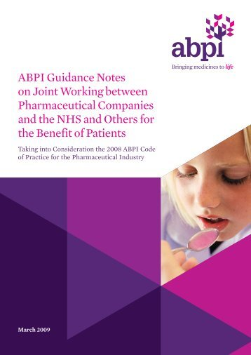 ABPI_Code_Guidance_Notes - Association of the British ...