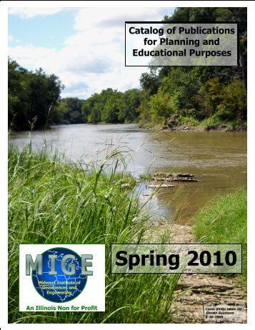Catalog of Publications for Planning and Educational Purposes ...