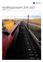 Handlingsprogram 2014–2023 - Jernbaneverket