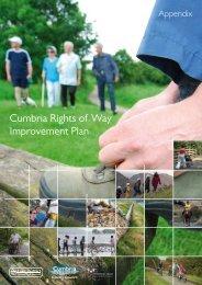 Cumbria ROWIP appendix (PDF, 2.2MB) - Cumbria County Council