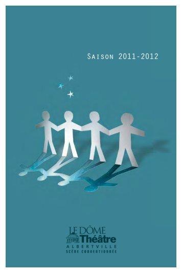 Saison 2011-2012 - Dôme Théâtre