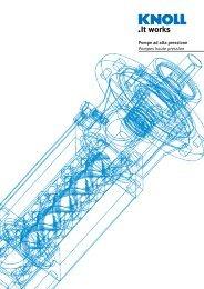Pompe ad alta pressione Pompes haute pression - Haenchen
