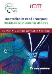 Programme - International Transport Forum