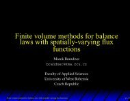Finite volume methods for balance laws with spatially-varying flux ...
