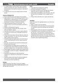 VANNPUMPE MEd tANk rUstfri hydroforPUMP MEd tANk rostfri - Page 4
